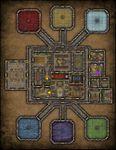 RPG Item: VTT Map Set 213: Planewalker Nexus
