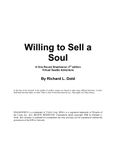 RPG Item: Willing to Sell a Soul