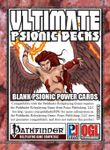 RPG Item: Ultimate Psionic Decks: Blank Psionic Power Cards