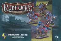 Board Game: Runewars Miniatures Game: Oathsworn Cavalry – Unit Expansion