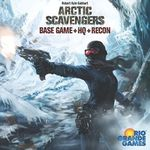 Board Game: Arctic Scavengers: Base Game+HQ+Recon