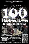 RPG Item: 100 Useless Items for all Modern RPGs