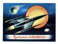 Board Game: Raketen-Wettfahrt