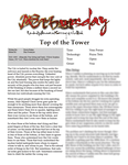 RPG Item: Æthursday: Top of the Tower