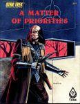 RPG Item: A Matter of Priorities
