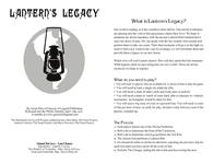 RPG Item: Lantern's Legacy (Game Chef Edition)