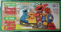 Board Game: Elmo's Zoo Ride