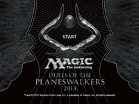 Video Game: Magic: The Gathering – Duels of the Planeswalkers 2013