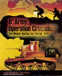 Board Game: 8th Army: Operation Crusader – The Winter Battles for Tobruk, 1941