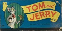 Board Game: Tom and Jerry Gay Double Feature Cartoon Game