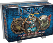 Board Game: Descent: Journeys in the Dark (Second Edition) – Guardians of Deephall