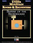 RPG Item: Rooms & Encounters: Shrine of the Sisterhood