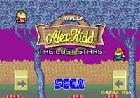 Video Game: Alex Kidd: The Lost Stars