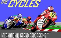 Video Game: The Cycles: International Grand Prix Racing