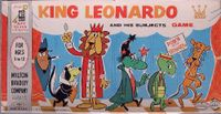 Board Game: King Leonardo and His Subjects Game