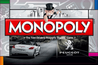 Board Game: Monopoly: Peugeot edition