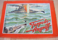Board Game: Torpedo-Angriff