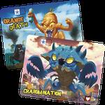 Board Game Accessory: King of Tokyo: Crabomination & Orange Death Promo