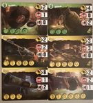 Board Game: Zombie 15': 12 Extra Search Cards Promo