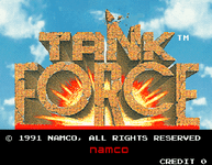 Video Game: Tank Force