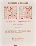 RPG Item: Dungeon Geomorphs Set One: Basic Dungeon