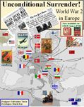 Board Game: Unconditional Surrender! World War 2 in Europe