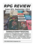 Issue: RPG Review (Issue 25 - Sep 2014)