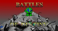 Video Game: Battles of Destiny