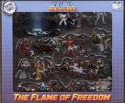 Board Game Accessory: Sentinel Tactics: The Flame of Freedom – Miniatures