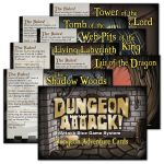 Board Game: Dungeon Attack!: Dungeon Adventure Cards