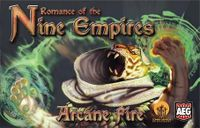 Board Game: Romance of the Nine Empires: Arcane Fire