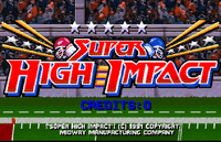 Video Game: Super High Impact