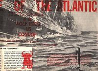 Board Game: Battle of the Atlantic: The Epic Struggle of the Wolf Pack vs Convoy