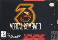 Video Game: Mortal Kombat 3