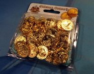 Board Game Accessory: Arcadia Quest: Metal Coins