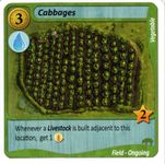Board Game: Fields of Green: Cabbages