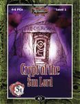 RPG Item: A01: Crypt of the Sun Lord (5E)