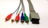 Video Game Hardware: Wii Component Video Cable