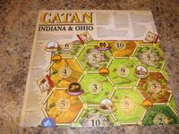 Board Game: Catan: Indiana & Ohio