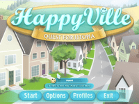 Video Game: HappyVille: Quest for Utopia