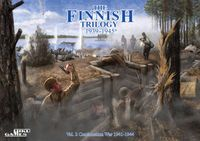 Board Game: The Finnish Trilogy 1939-1945: Continuation War 1941-1944 (vol. 2)