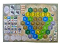 Board Game: The Castles of Burgundy: 4th Expansion – Monastery Boards