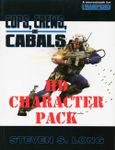 RPG Item: Cops, Crews, And Cabals (HD Character Pack)