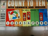 Board Game: Count to Ten with Cowboys and Indians