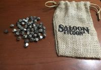 Board Game Accessory: Saloon Tycoon: Kickstarter Exclusive Accessories