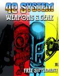 RPG Item: Weapons & Gear