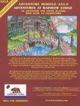 RPG Item: AA1-2: Adventures at Rainbow Lodge