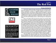 RPG Item: Lost Books 02: The Red Fist