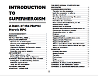 RPG Item: Introduction to Superheroism: A Hack of the Marvel Heroic RPG