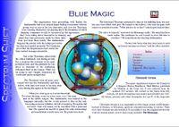 RPG Item: Colours of Magic: Blue Magic (D20)